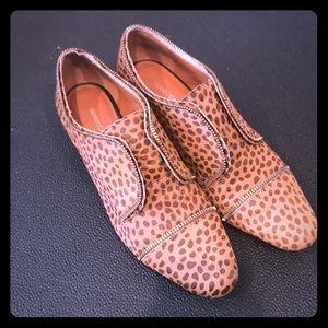Rebecca Minkoff Macey Cheetah Print Loafers